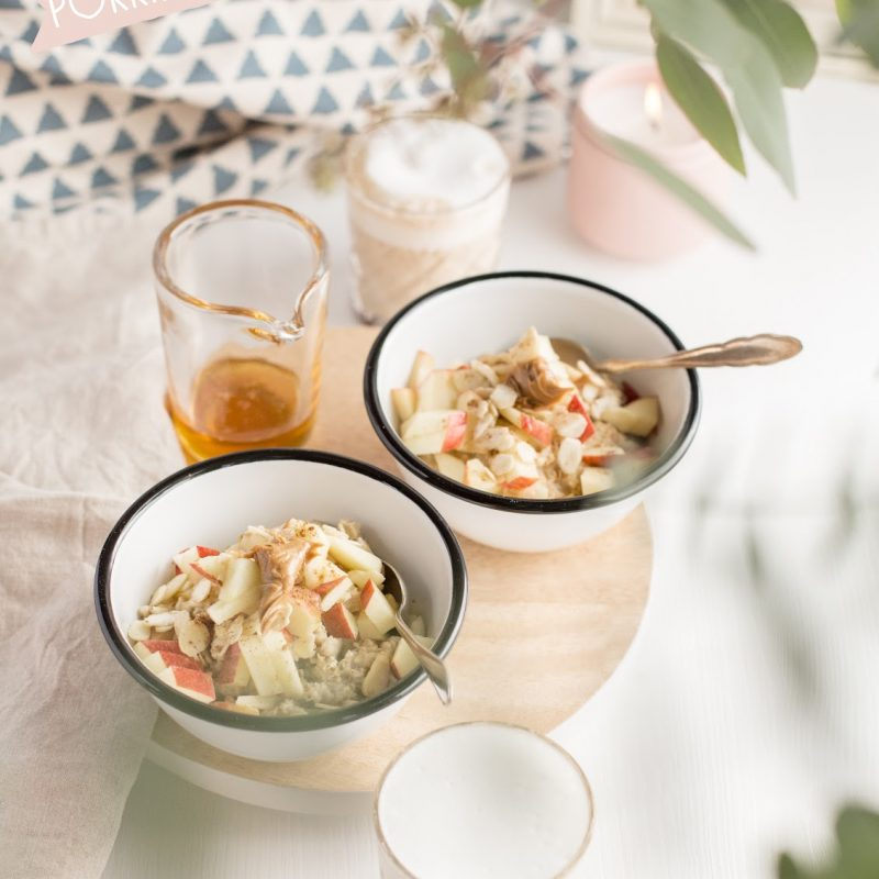 Take it easy Baby – porridge mit Äpfeln