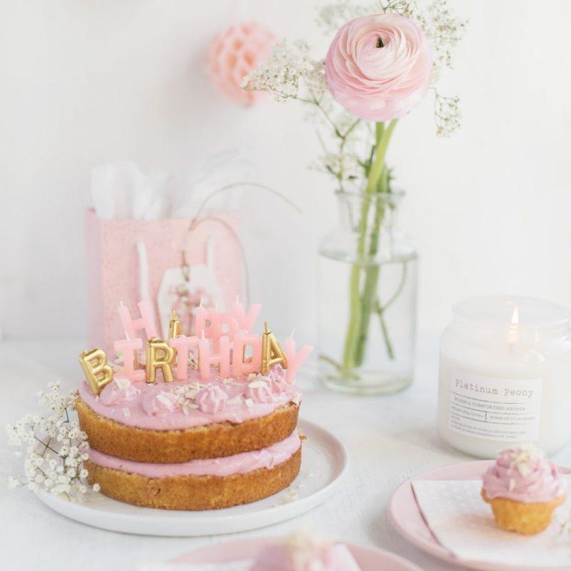 Himbeer  & weiße schokolade Geburtstagstorte – Ideen