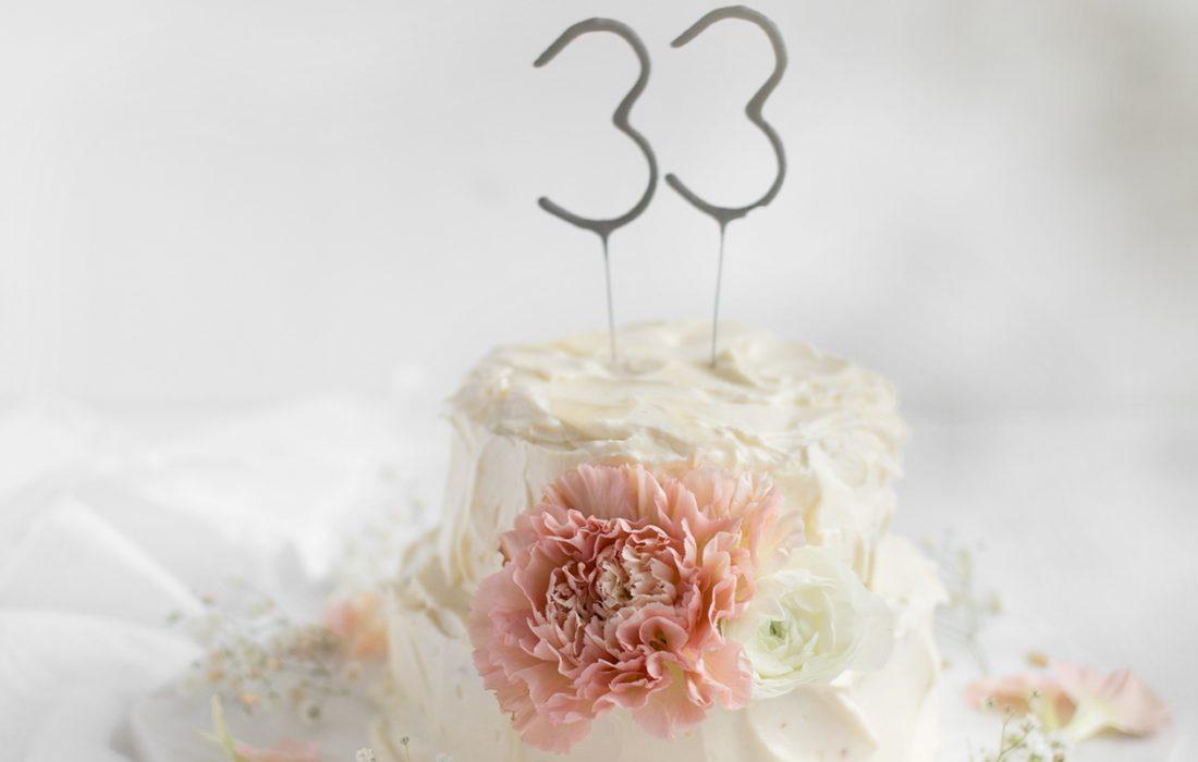 Märchenhafte Geburtstagstorte zum 33.