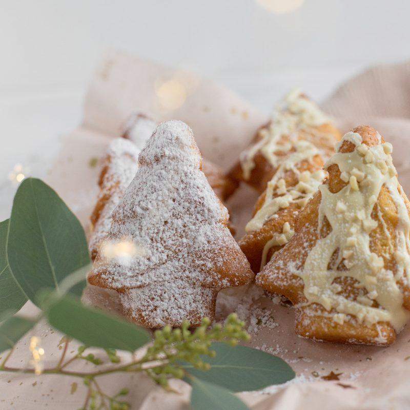 Mandel – Topfen Tannebaumkuchen mit und ohne Marzipan