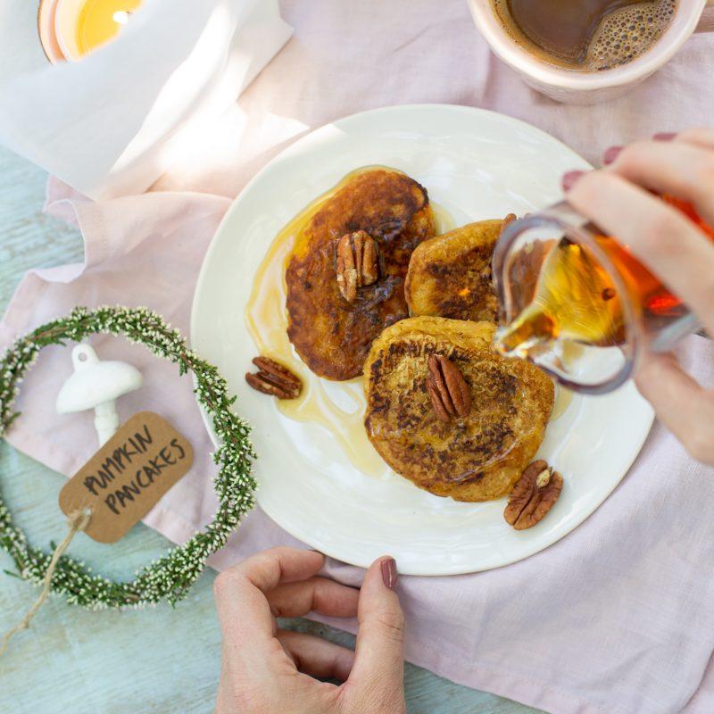 Vegane Pumpkin Pancakes & Erika DIY