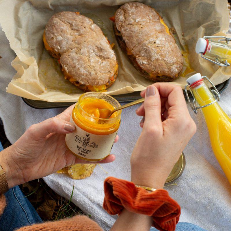 Rezepte mit Honig und ein zauberhaftes Honey Giveaway